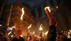 Церемония схождения Благодатного огня пройдет без паломников