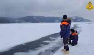 МЧС России: в весенний период выход на лед представляет угрозу