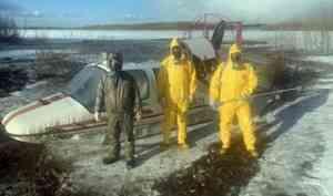 COVID-19 добрался до Холмогорского района. Заболевших эвакуировали на аэросанях