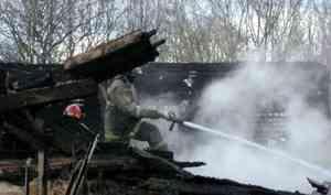 ВПлесецке выясняют причины пожара вздании бывшего военкомата