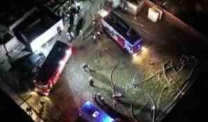 В Москве произошел пожар в доме престарелых, есть погибшие