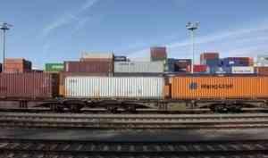 Очередной контейнерный поезд в Китай отправлен с Северной железной дороги