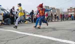 Майская эстафета в Архангельске пройдёт осенью