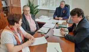Представители транспортного оператора «ЭкоПрофи» встретились с главами муниципальных образований Поморья