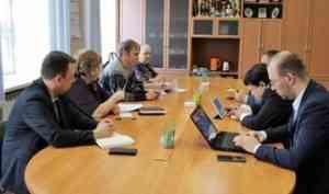 Гендиректор ООО «ЭкоПрофи» провёл рабочую встречу с администрацией Верхнетоемского района