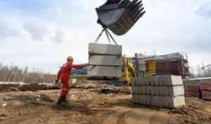 Работы по строительству ФОКа в Архангельске и лыжной базы на Яграх продолжаются