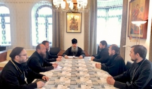 Митрополит Корнилий провел рабочее совещание