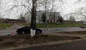В дорожной аварии в Северодвинске погиб мотоциклист
