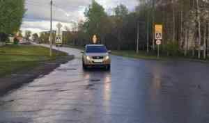 В Котласе водитель «Сузуки» сбил на пешеходном переходе ребёнка