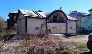 Близ Чубмаровки на месте старой «деревяшки» предлагают построить четырехэтажный дом
