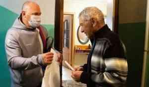 Олимпийская помощь - ветеранам спорта Поморья