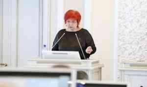 Любовь Анисимова представила областному Собранию доклад о своей деятельности