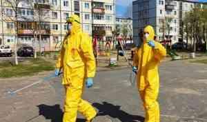 В Северодвинске началась тотальная дезинфекция от коронавируса