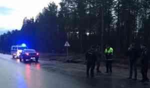 В Архангельской области насмерть разбился мотоциклист на новом байке