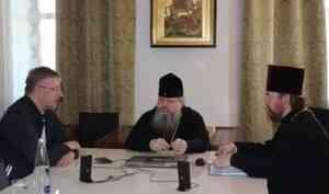 Митрополит Корнилий встретился с публицистом и краеведом Владимиром Станулевичем