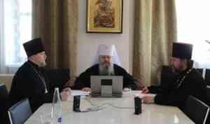 Митрополит Корнилий возглавил заседание Архиерейского совета