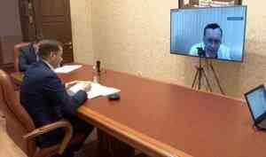 Вдистанционном режиме сегодня состоялся разговор Александра Цыбульского сглавными врачами больниц региона