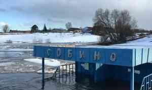 В Архангельской области подтоплены четыре населенных пункта