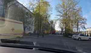 В Северодвинске при взрыве баллона в ГАЗели пострадали два человека
