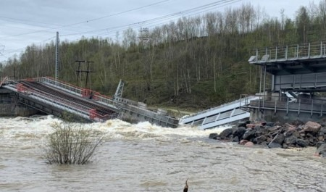 Железнодорожное сообщение с Мурманской областью прервано