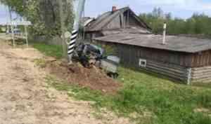 В Красноборском районе водитель «Опеля» погиб, врезавшись в столб