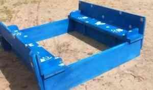 Осужденные из Коряжмы создали для детсадовцев песочницы-трансформеры