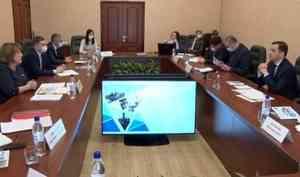 Александр Цыбульский провел рабочую встречу сглавой Приморского района Валентиной Рудкиной
