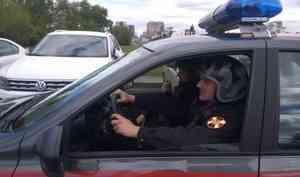 В Архангельске сотрудники Росгвардии задержали подозреваемого в краже строительного инструмента