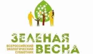 Минприроды региона информирует о новом формате всероссийского экологического субботника «Зеленая Весна»