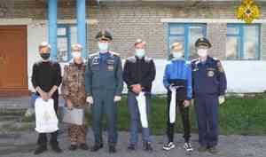 В Новосибирской области наградили жителей деревни Южино, спасших пенсионерку на пожаре