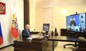 Евгений Зиничев доложил Владимиру Путину о мерах по ликвидации разлива дизельного топлива в Красноярском крае
