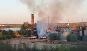 Второй пожар завечер: наБакарице загорелась котельная