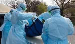 Оперштаб России сообщил о новом случае смерти пациента с COVID-19 в Архангельской области