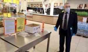 В Северодвинске проходят рейды по проверке масочно-перчаточного режима