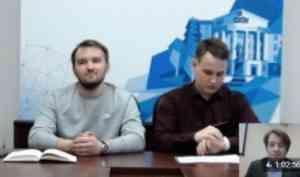 Иван Каширин и Сергей Фефилов рассказали о внеучебной деятельности студентов САФУ