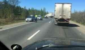 Виновником столкновения трех автомобилей в Архангельске оказался пьяный водитель