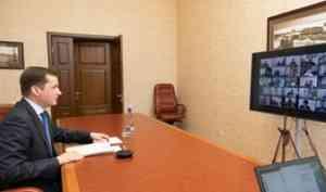 Увеличить объем ввода жилья и поддержать строителей: Александр Цыбульский встретился с представителями отрасли