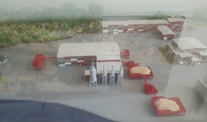 В Архангельске начинается строительство пеллетного завода