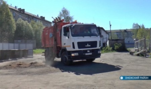 Региональный оператор налаживает вывоз мусора в районах Архангельской области