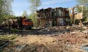 В Архангельске снесут 70 аварийных домов