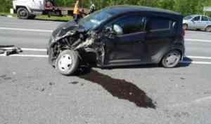 В Виноградовском районе в ДТП пострадали два человека
