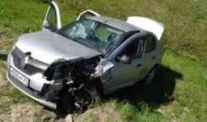 Два человека получили травмы в результате ДТП с участием трех автомобилей в Поморье