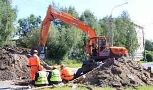 При гидравлических испытаниях в Архангельске нашли 11 крупных дефектов сетей