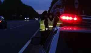 Исторический момент: смотрим, как Северодвинск закрывают для проезда из-за вспышки коронавируса