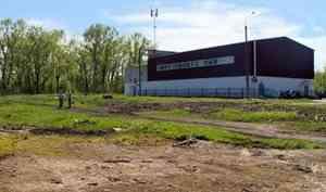 Филиал Исакогорского детского юношеского спортивного центра вЦигломени планирует благоустроить территорию
