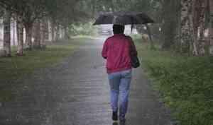 Готовьте зонтики: сегодня в Архангельске и ряде районов области синоптики ожидают грозу