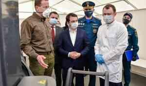 МЧС России: Новый госпиталь в Мурмашах Мурманской области заработает в ближайшее время