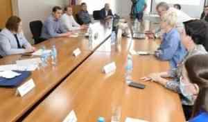 Александр Цыбульский встретился с главой администрации и депутатами Коряжмы