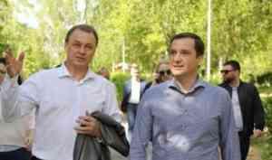 Александр Цыбульский побывал с рабочим визитом в Коряжме