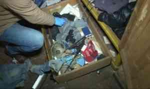 Архангелогородца подозревают в изготовлении и хранении огнестрельного оружия